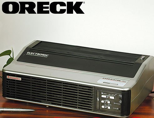 oreck xl professional air purifier manual