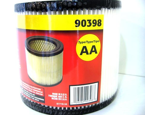 90398 Shopvac 903 98 Filter Cartridge For Hangup