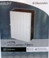 EL017 PlasmaWave Air Purifier 1 HEPA Filter and 1 Carbon Filter