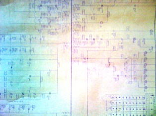 Bally Cosmos Antique Pinball Wiring Schematic